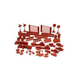 Mantic Games Red Brick Urban Accessories