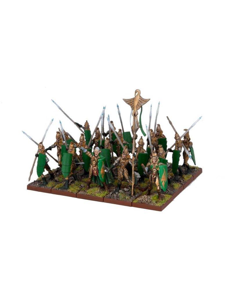 Mantic Games Elves: Spearmen Regiment