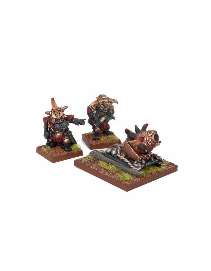 Mantic Games Abyssal Dwarfs: G'rog Mortar