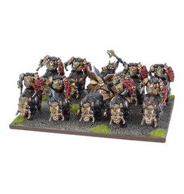 Mantic Games Slave Orc Gore Rider Regiment