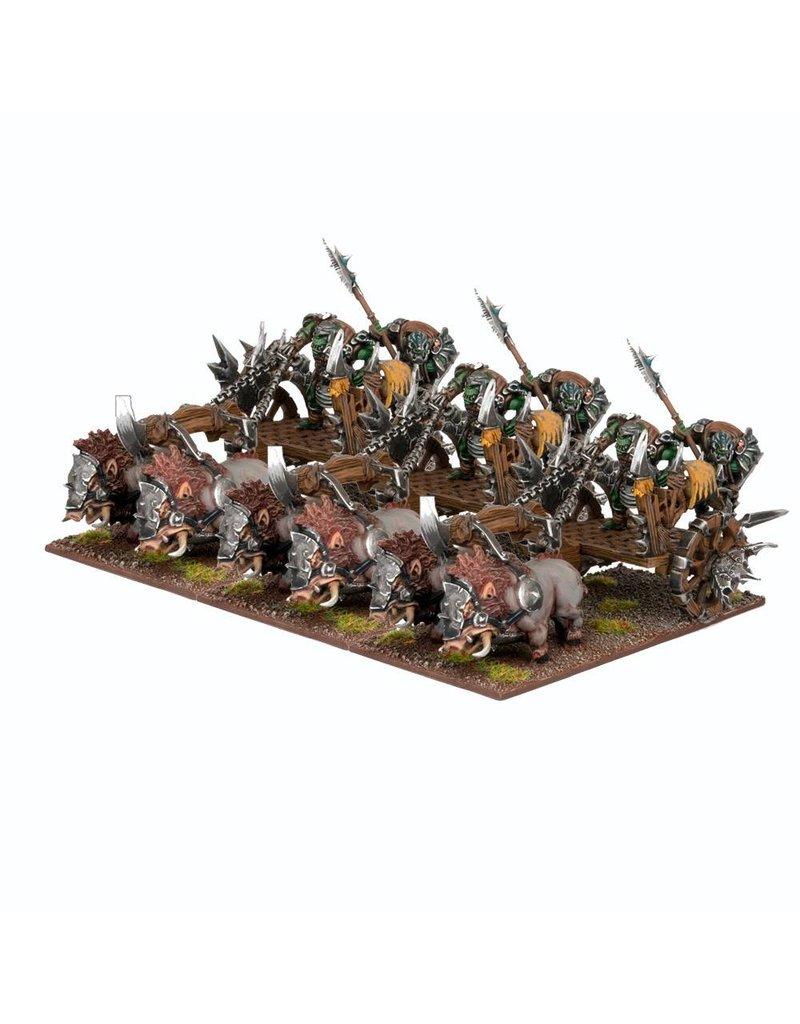 Mantic Games Orcs: Chariot Regiment