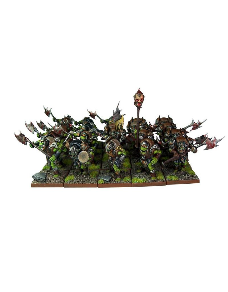 Mantic Games Orc: Greatax Regiment