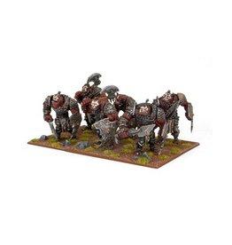 Mantic Games Ogre Warrior Horde