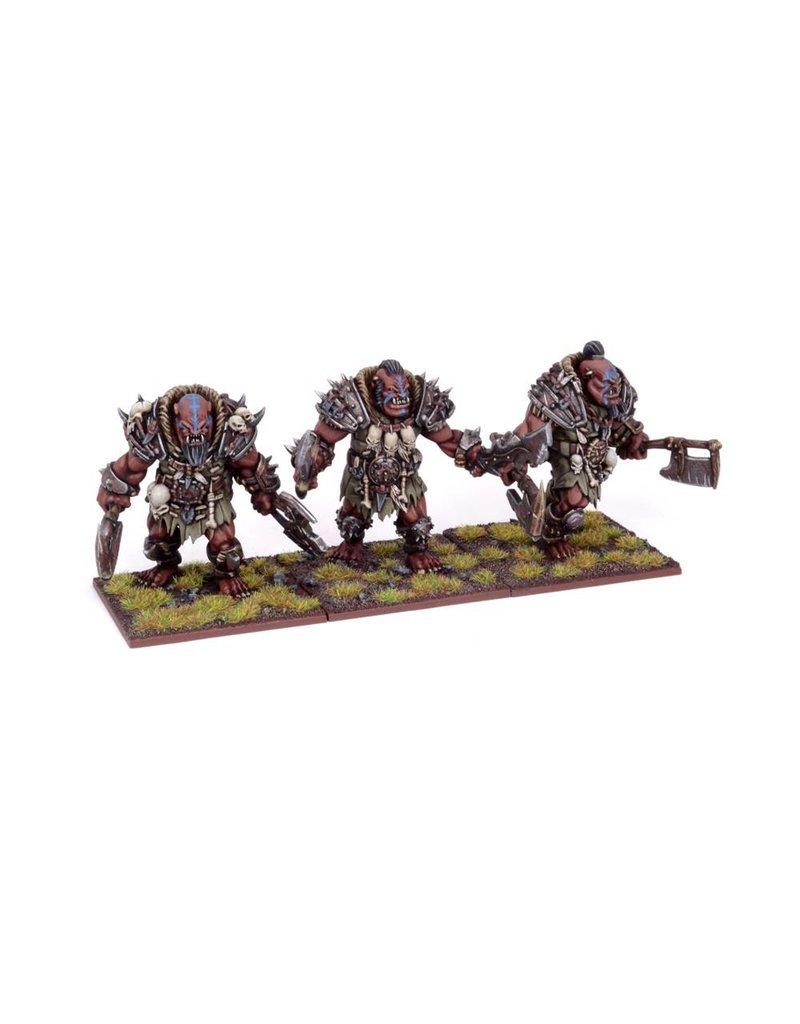 Mantic Games Ogres: Berserker Brave Regiment
