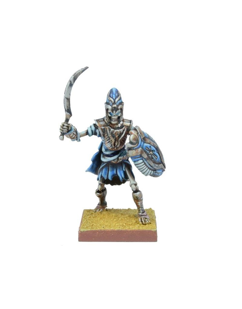 Mantic Games Empire of Dust: Revenant Champion/Army Standard Bearer