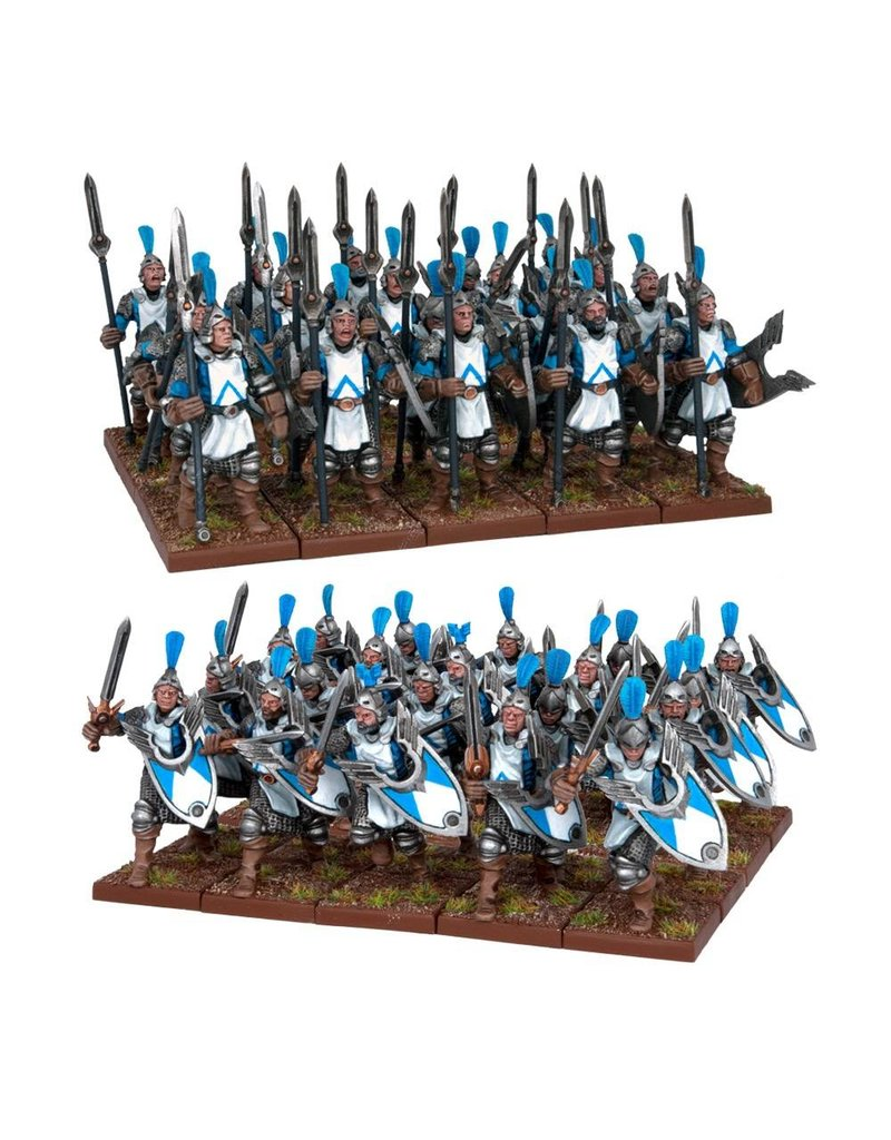 Mantic Games Basilean: Men-at-Arms Horde