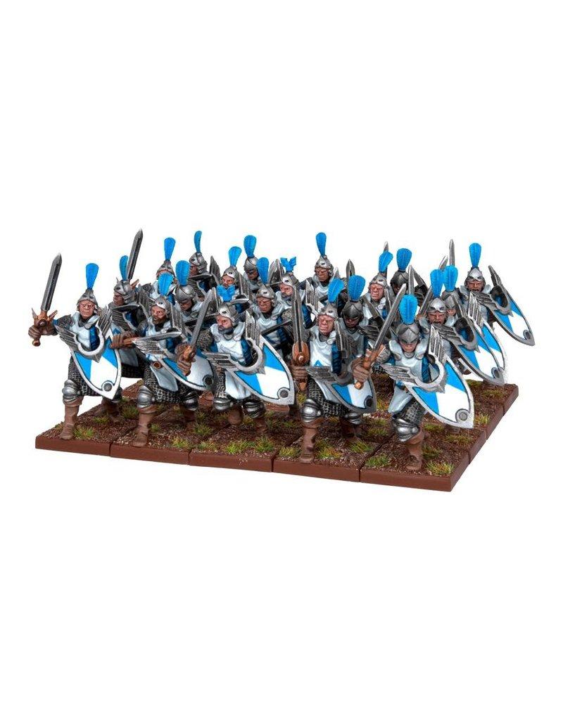 Mantic Games Basilean: Men-at-Arms Regiment