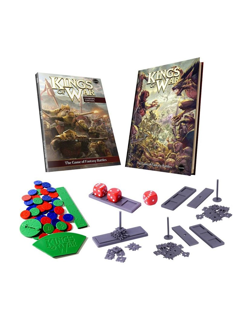 Mantic Games Kings of War Deluxe Gamer's Edition
