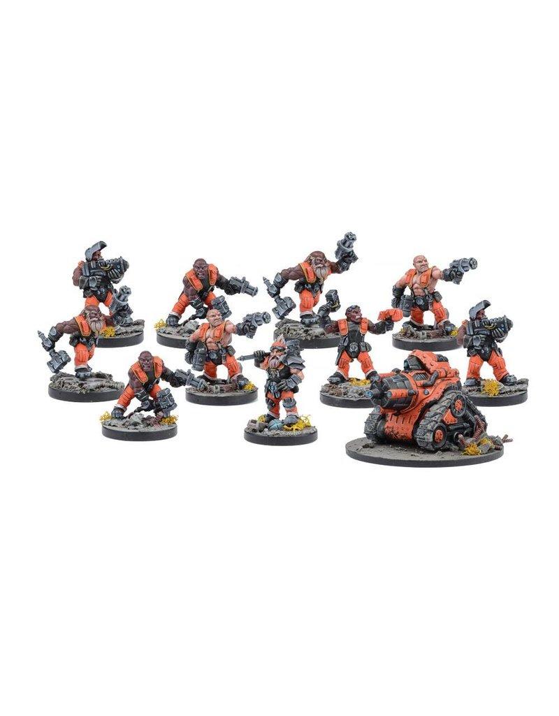 Mantic Games Warpath / Deadzone: Forge Father Brokkrs