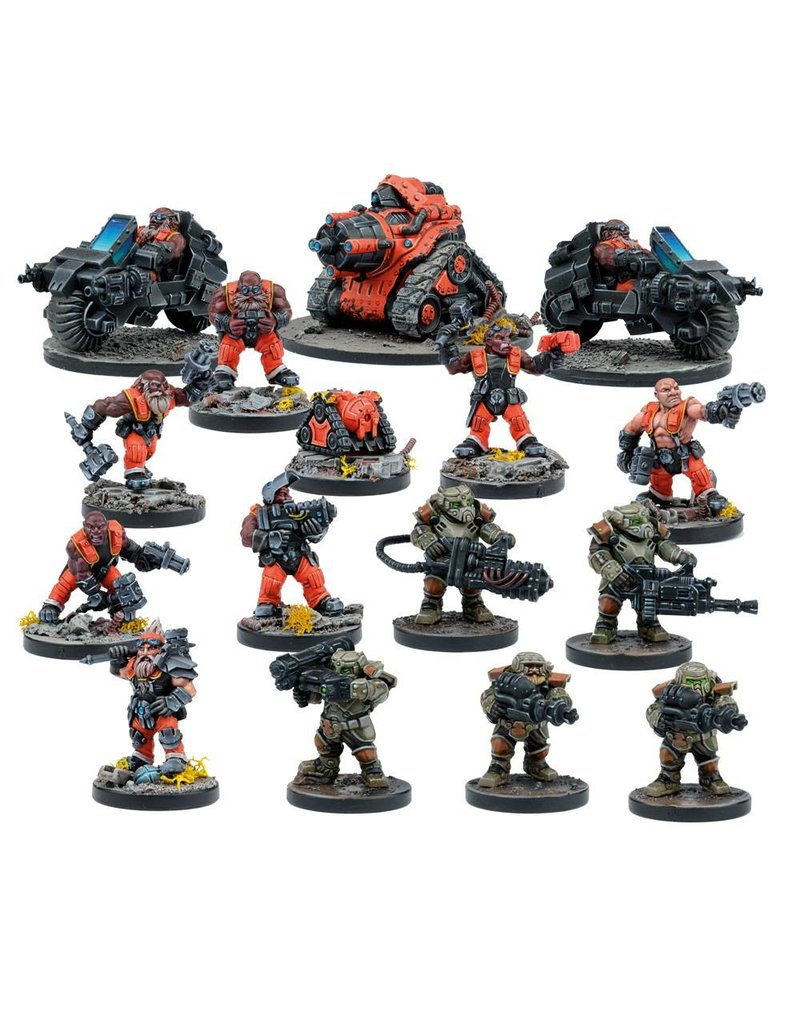 Mantic Games Deadzone / Warpath: Forge Father Faction Booster Box Set