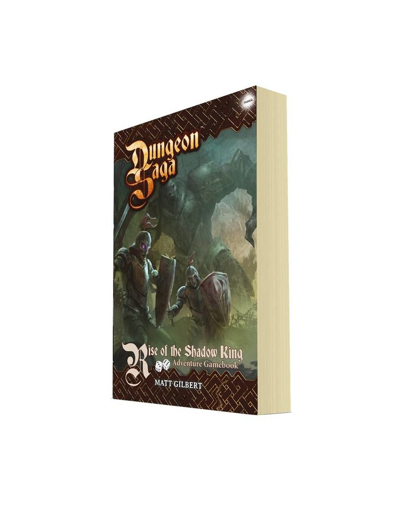 Mantic Games Dungeon Saga: Rise of the Shadow King RPG Adventure Book