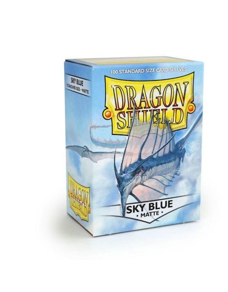 ARCANE TINMEN Dragon Shield Sleeves Matte Sky Blue (100)
