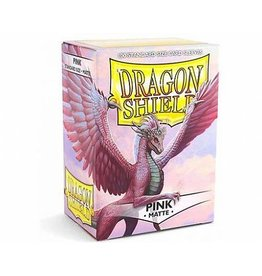 ARCANE TINMEN Dragon Shield Sleeves Matte Pink (100)