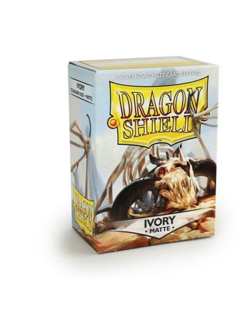 ARCANE TINMEN Dragon Shield Sleeves Matte Ivory (100)