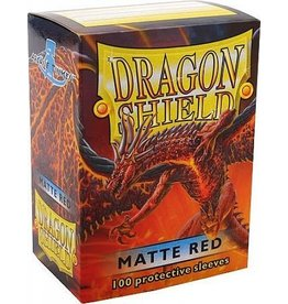 ARCANE TINMEN Dragon Shield Sleeves Matte Red (100)