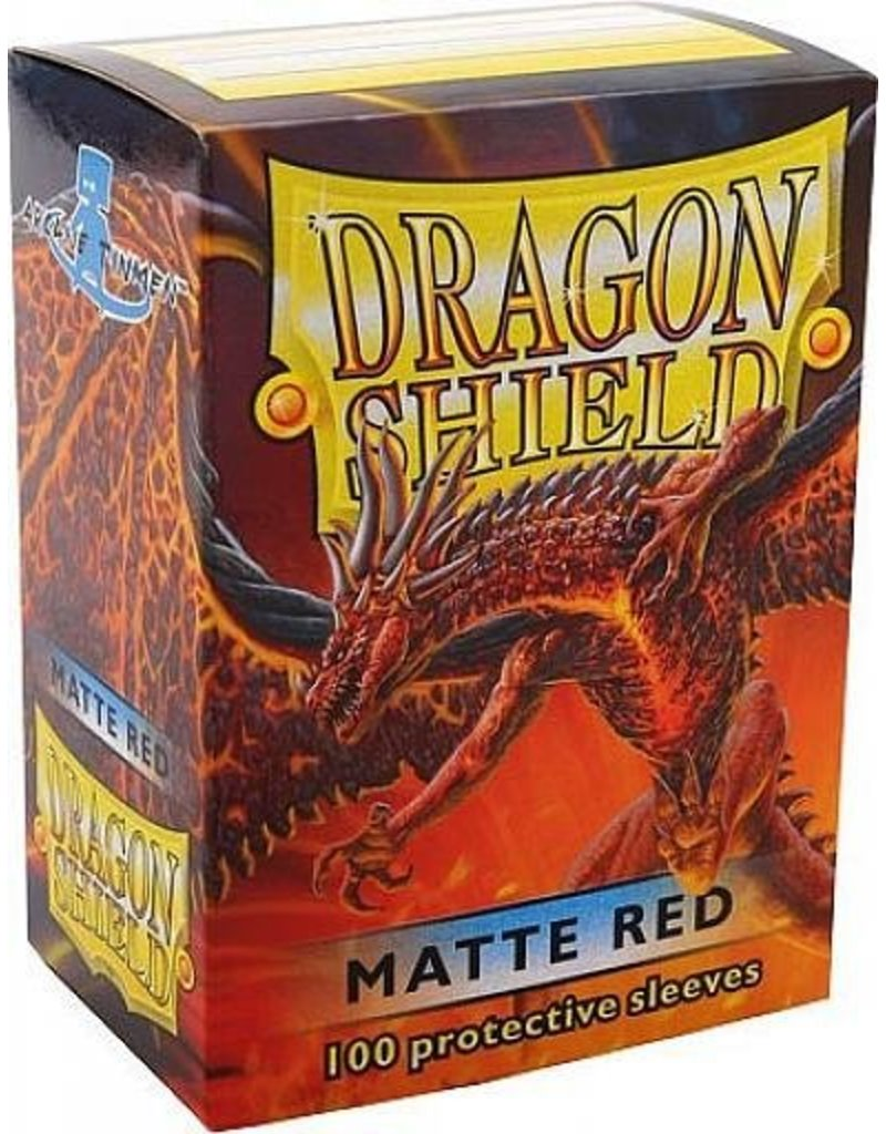 ARCANE TINMEN Dragon Shield Sleeves Matte Red (100)