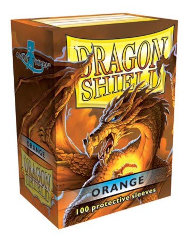 ARCANE TINMEN Dragon Shield Sleeves Orange (100)