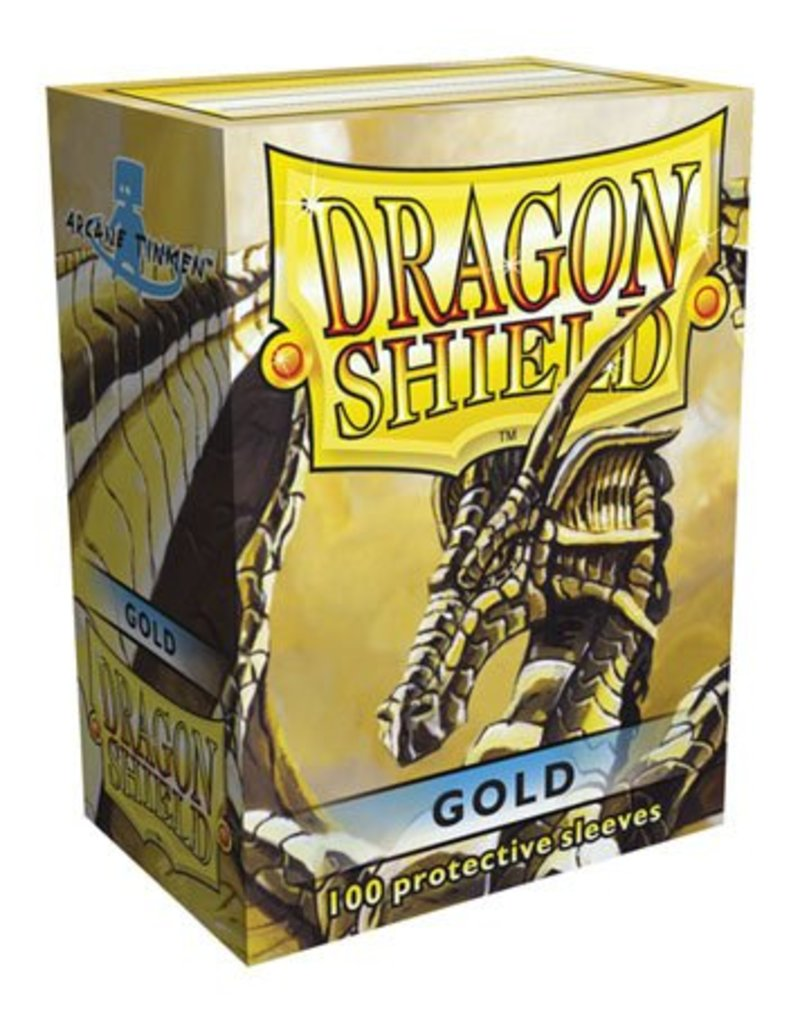 ARCANE TINMEN Dragon Shield Sleeves Gold (100)