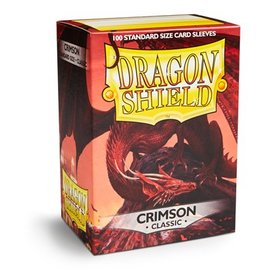 ARCANE TINMEN Dragon Shield Sleeves Crimson (100)
