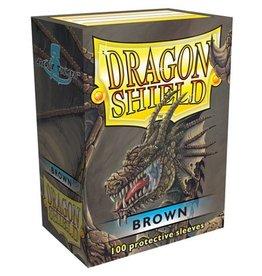 ARCANE TINMEN Dragon Shield Sleeves Brown (100)