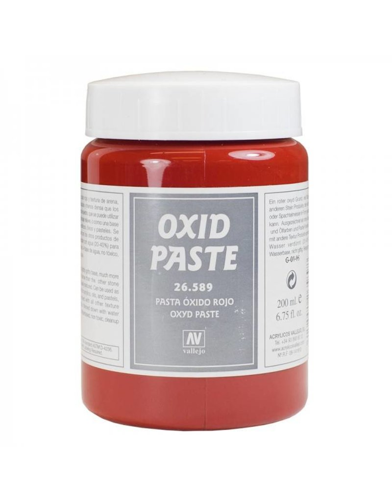 Vallejo Texture Effects - Red Oxide Paste 200ml