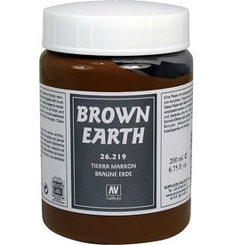 Vallejo Brown Earth Paste 200ml