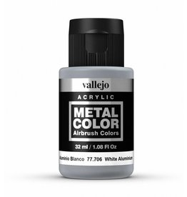 Vallejo White Aluminium 32ml