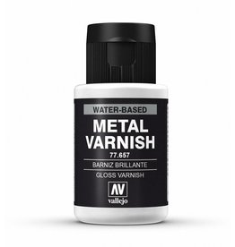 Vallejo Gloss Metal Varnish 32ml