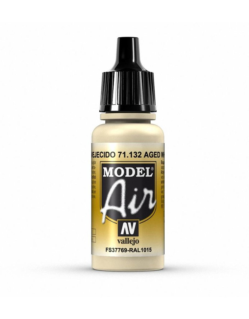 Vallejo Model Air - Aged White 17ml