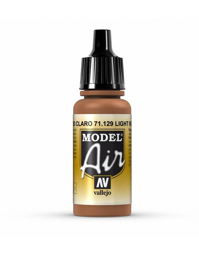 Vallejo Model Air - Light Rust 17ml