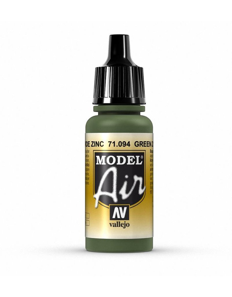 Vallejo Model Air - Green Zinc Chromate 17ml