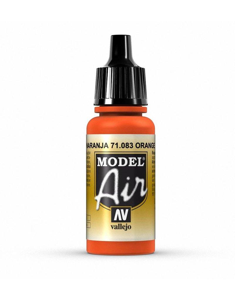 Vallejo Model Air - Orange 17ml