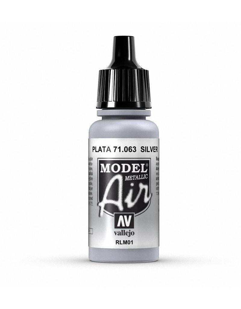 Vallejo Model Air - Silver (Metallic) 17ml