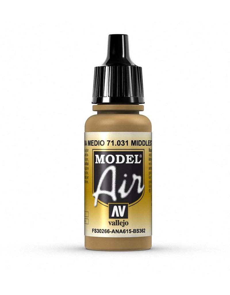 Vallejo Model Air - Middle Stone 17ml