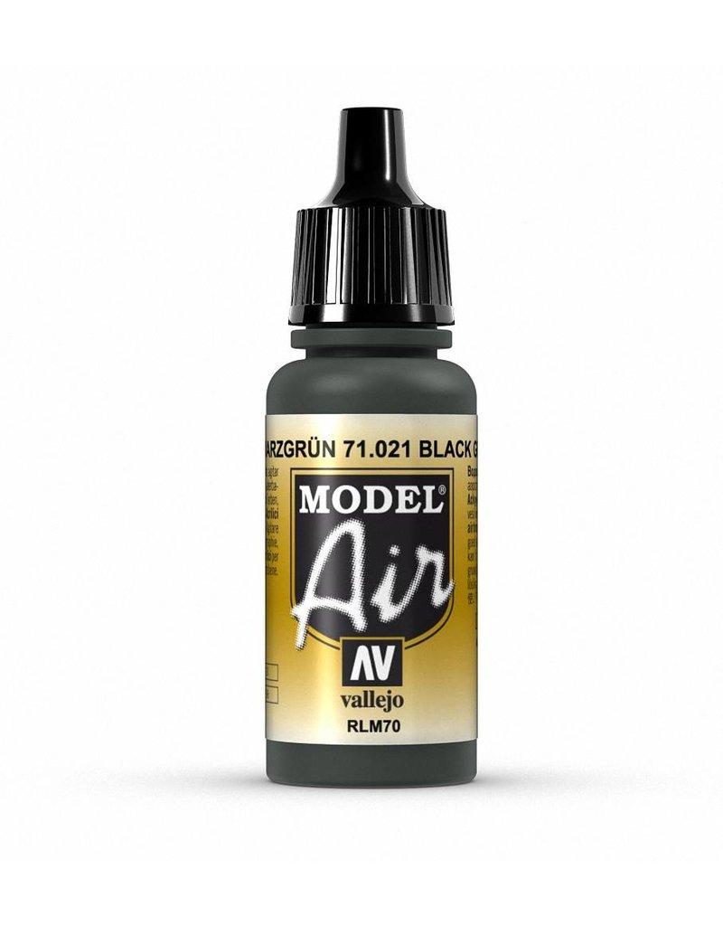 Vallejo Model Air - Black Green 17ml