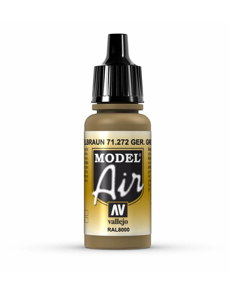 Vallejo Model Air - German Green Brown 17ml