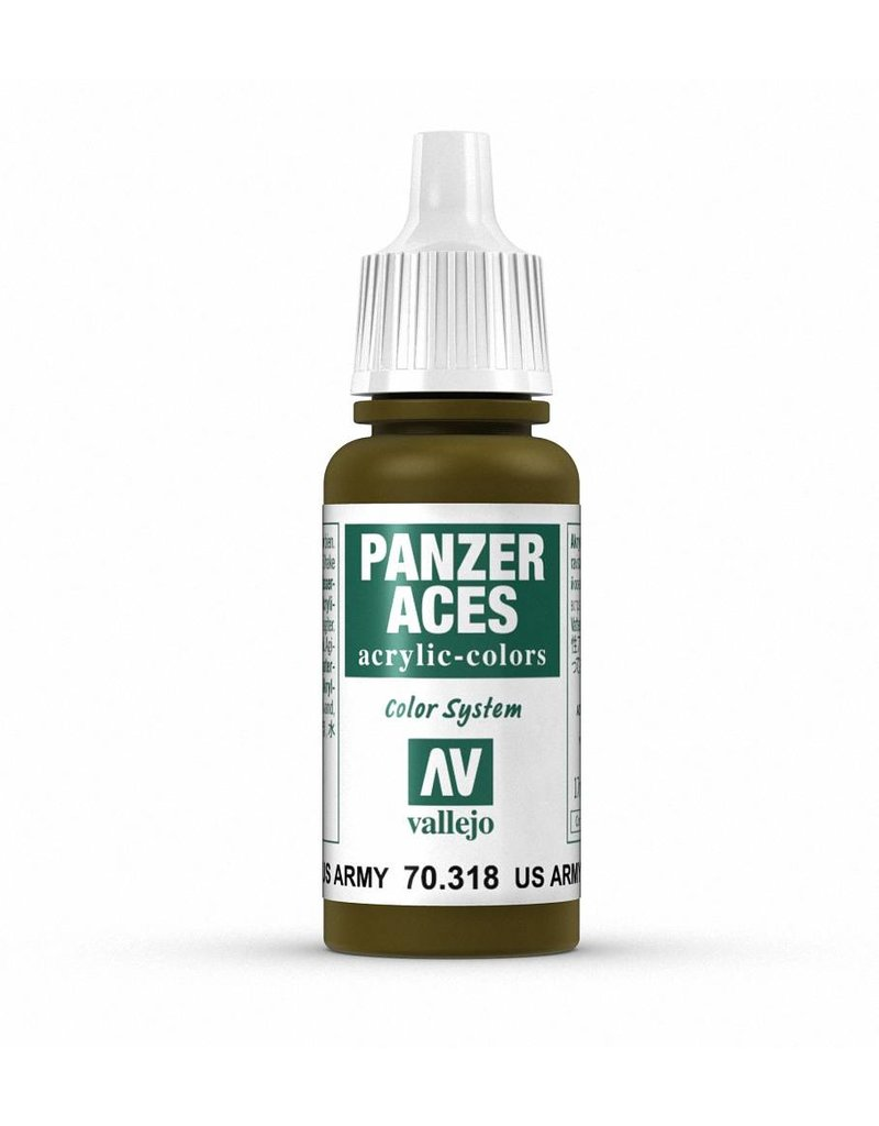 Vallejo Panzer Aces - US Army Tank Crew 17ml