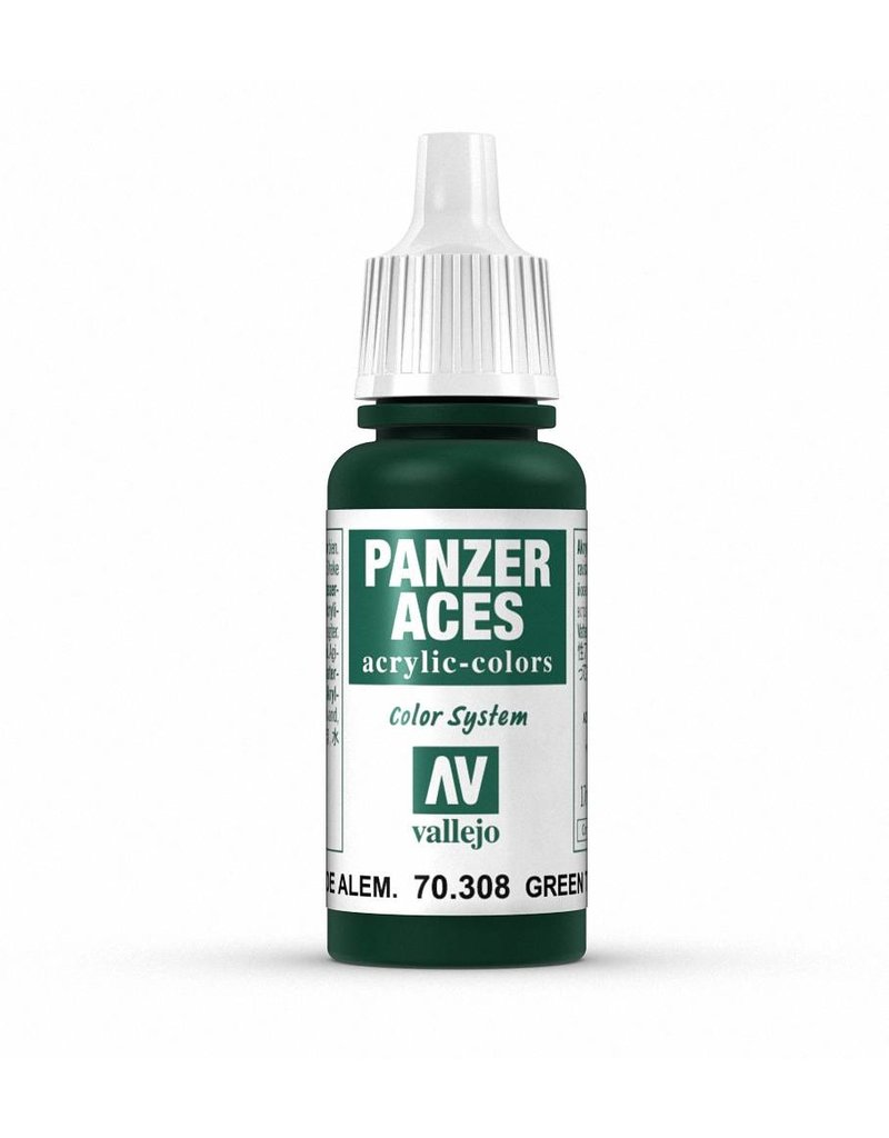 Vallejo Panzer Aces - Green Tail Light 17ml