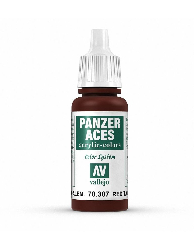 Vallejo Panzer Aces - Red Tail Light 17ml