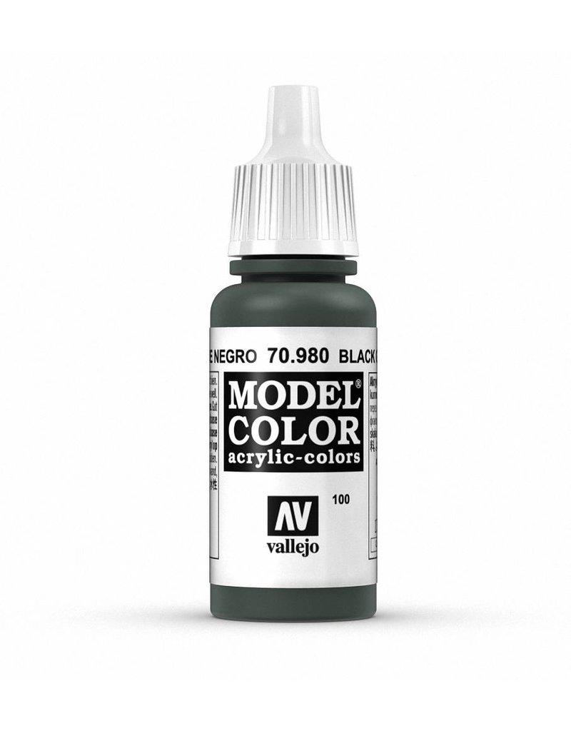 Vallejo Model Color - Black Green 17ml