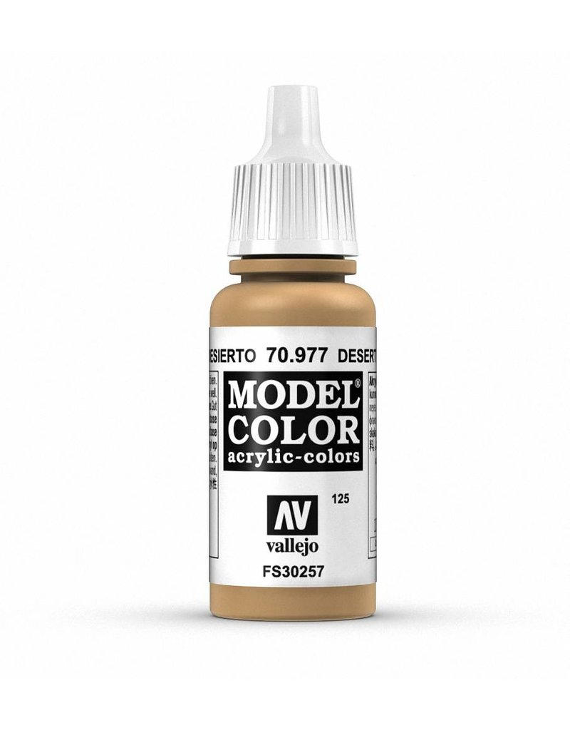 Vallejo Model Color - Desert Yellow 17ml