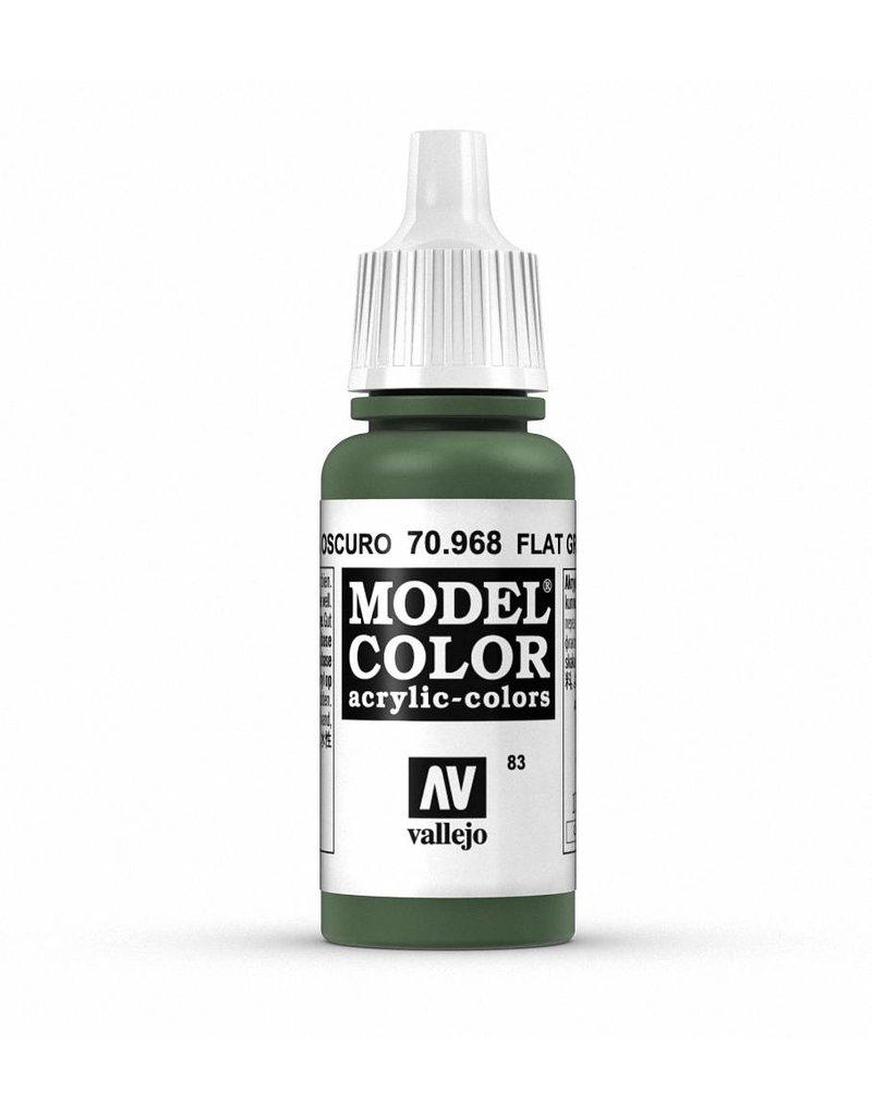 Vallejo Model Color - Flat Green 17ml