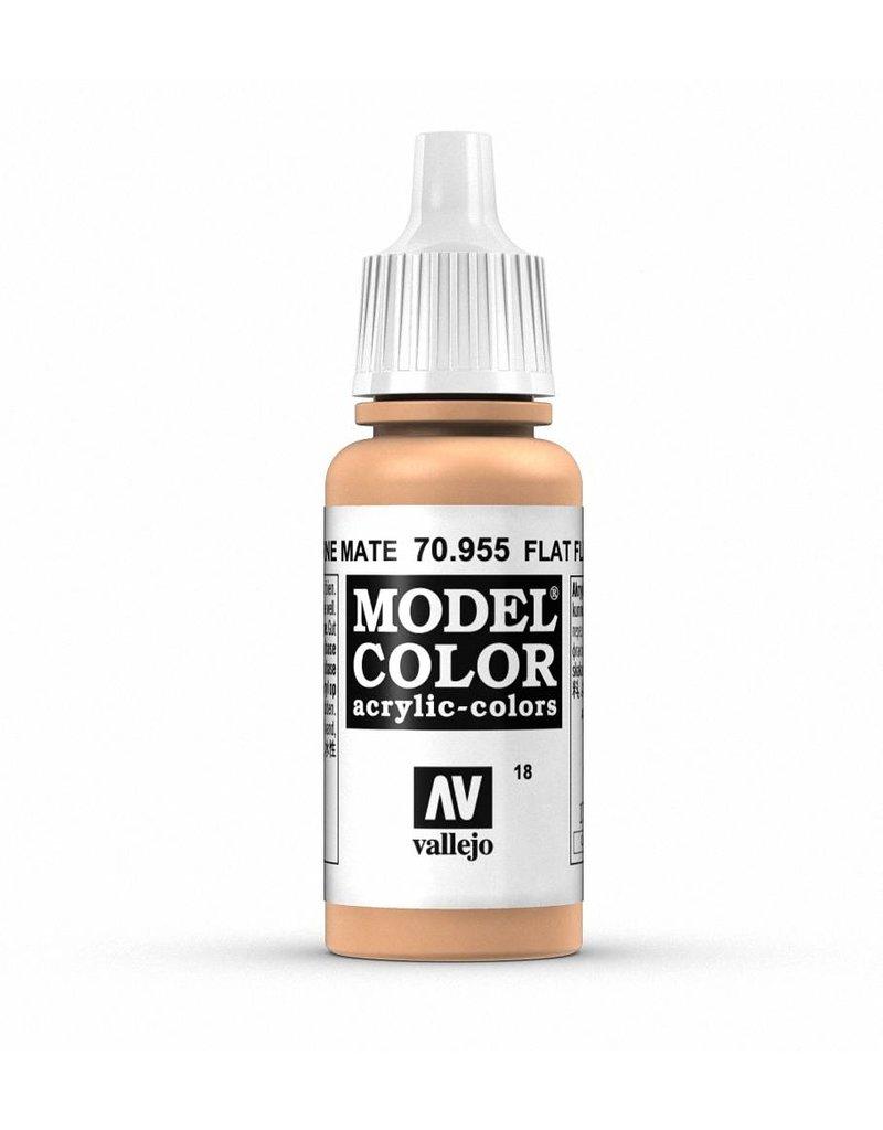 Vallejo Model Color - Flat Flesh 17ml