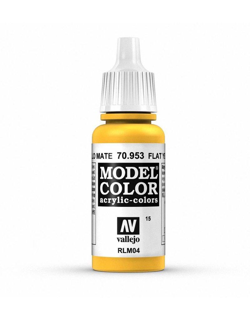 Vallejo Model Color - Flat Yellow 17ml