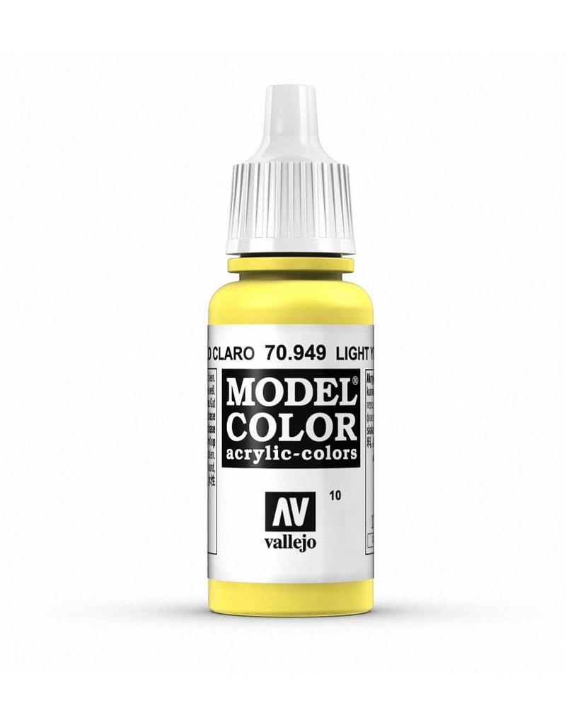 Vallejo Model Color - Light Yellow 17ml