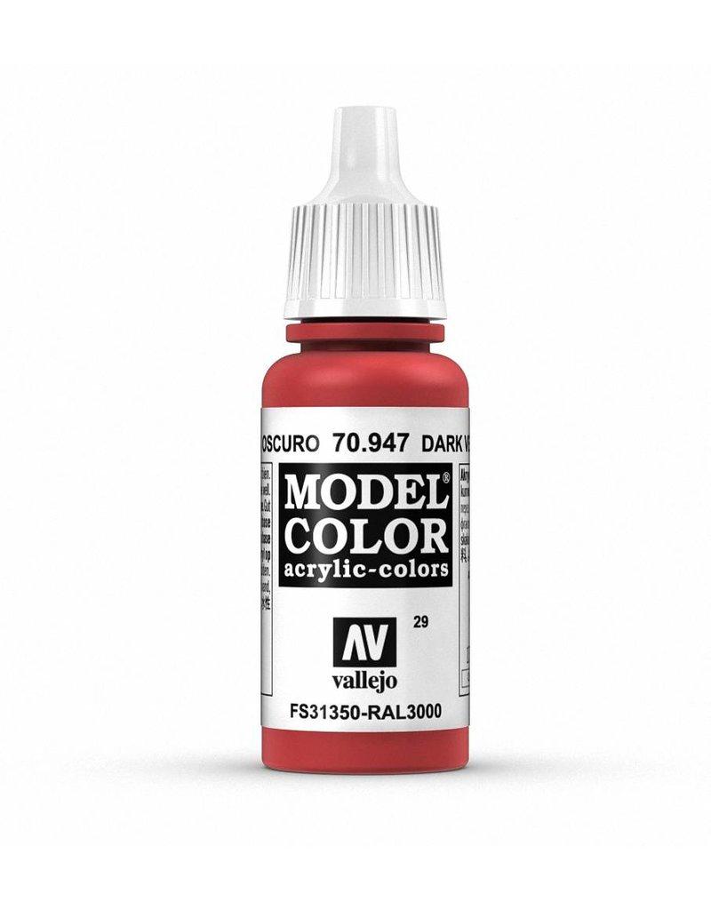 Vallejo Model Color - Red 17ml