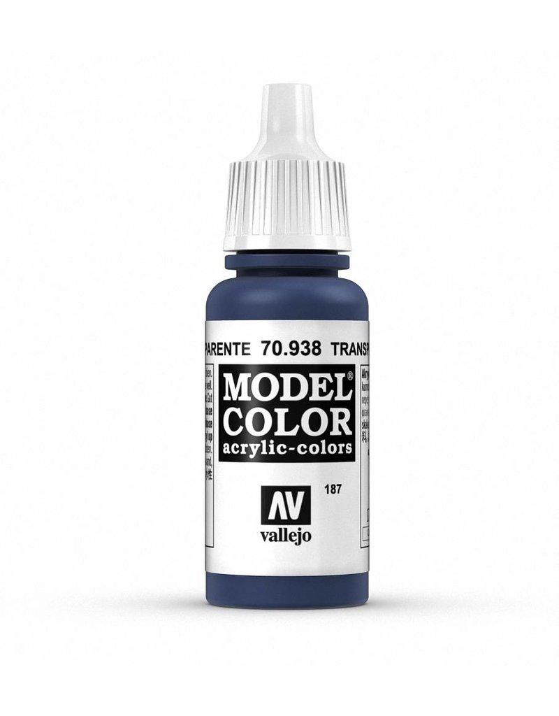 Vallejo Model Color - Transparent Blue 17ml