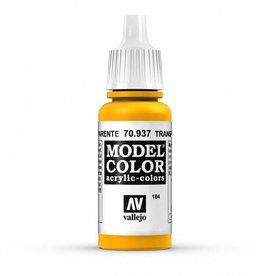 Vallejo Transparent Yellow 17ml