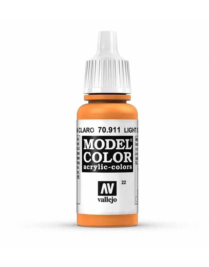 Vallejo Model Color - Light Orange 17ml