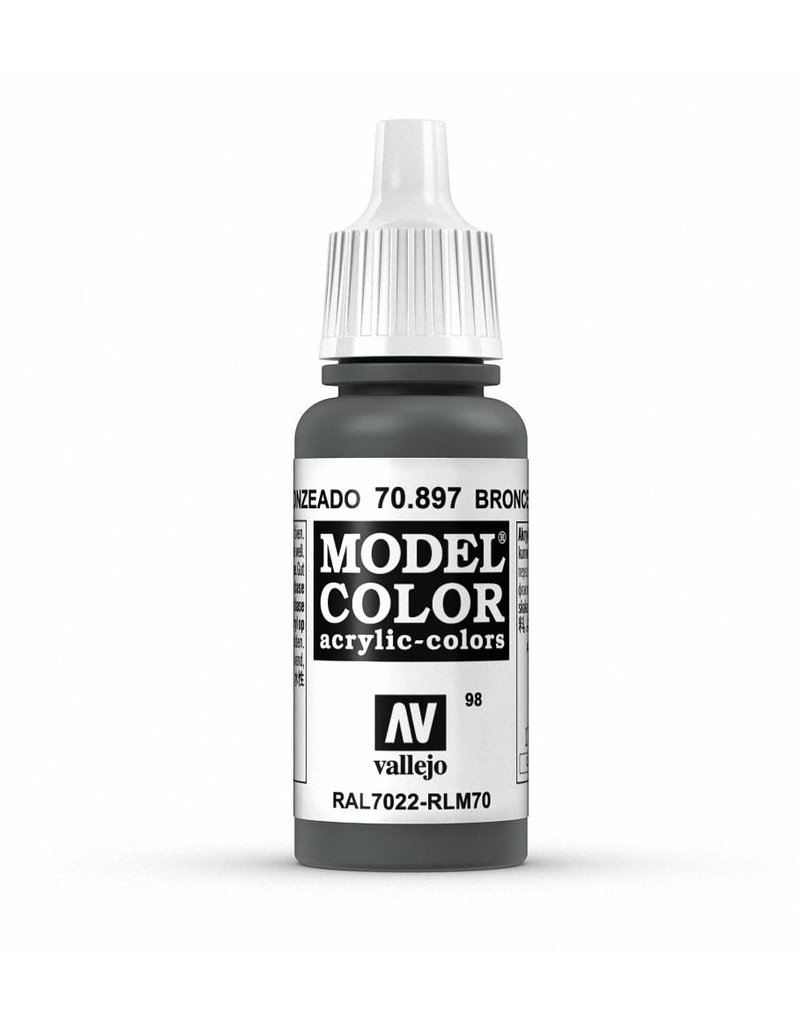 Vallejo Model Color - Bronze Green 17ml